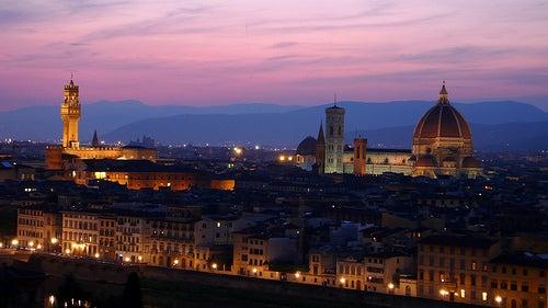 Florencia, ciudad que enamora y museo viviente