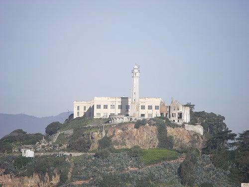 La antigua prision de Alcatraz