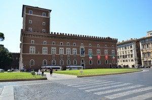 Se da a conocer el búnker de Mussolini bajo el Palazzo Venezia
