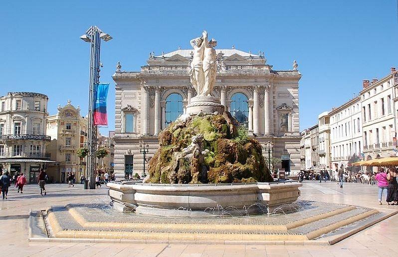 Montpellier, la belleza del Mediodía francés