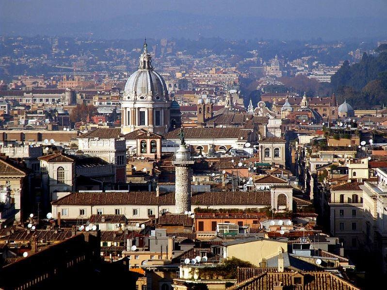 Opciones de vuelos para viajar a Roma
