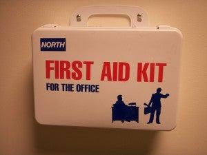 Botiquín o Kit de primeros auxilios