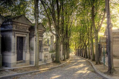 El Cementerio de Pere Lachaise de París