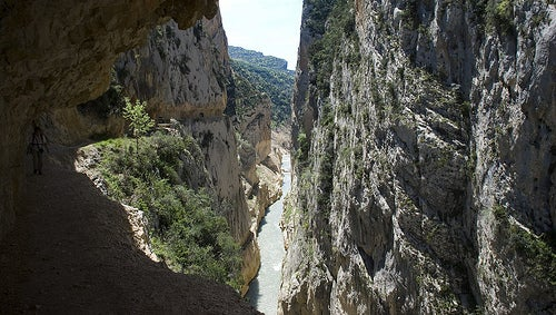 El Desfiladero de Mont-Rebei, senderismo en el corazón de los Pirineos