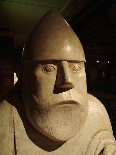 Escultura vikinga del Museo de Gotemburgo en Suecia