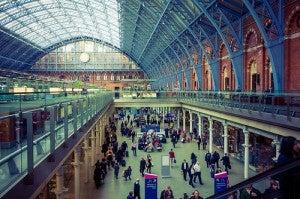 Estación de St. Pancras de Londres