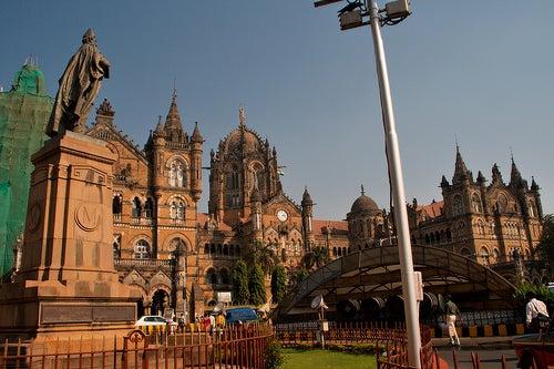 La estación de trenes de Bombay