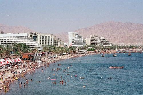 Las playas de Eilat, un paraíso sobre el Mar Rojo en Israel