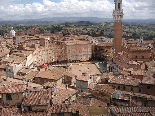 Siena, la ciudad rival de Florencia