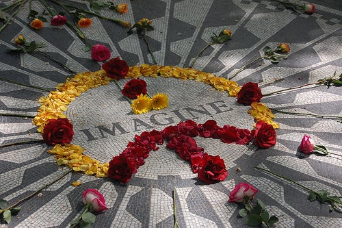 Strawberry Fields, memorial que recuerda a Jonh Lennon