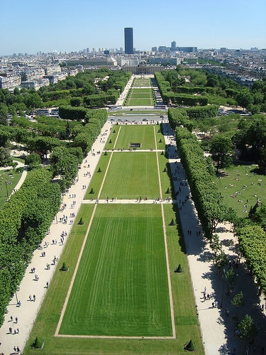 Vista desde la Torrre Eiffel