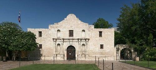 Visita a la Misión de El Álamo, Texas