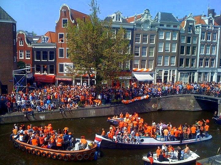 Día de la Reina: una divertida fecha para visitar los Países Bajos