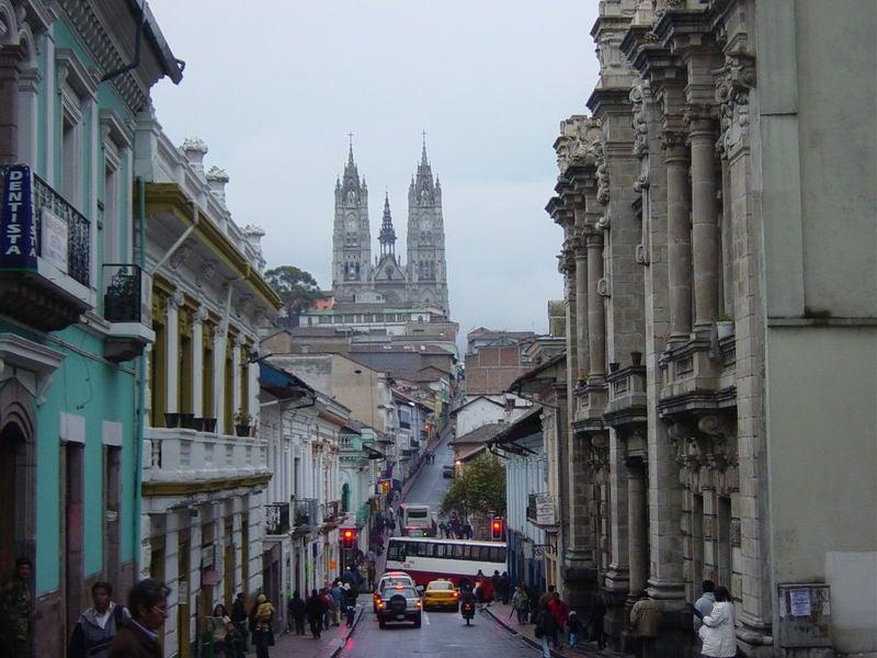 Quito, reliquia de arquitectura colonial