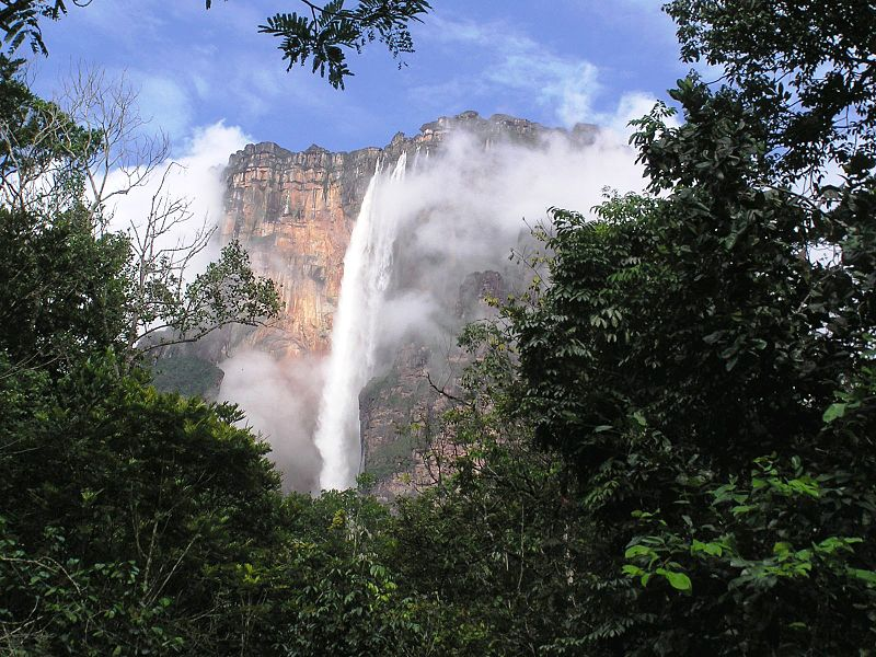 Cinco espectaculares cataratas de Venezuela