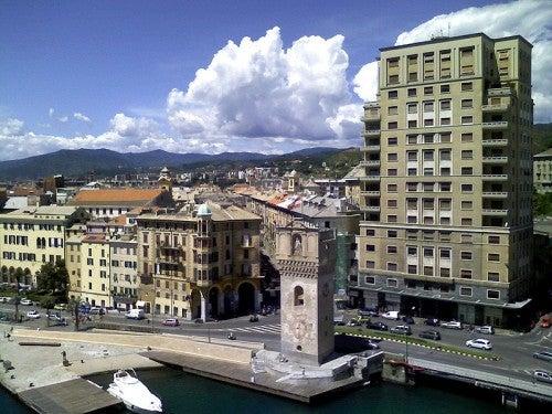 La riqueza arquitectónica de Savona, Italia
