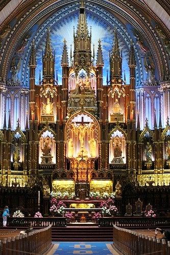 Basilica de Notre-Dame de Montreal