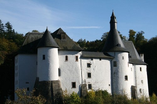 El castillo de Clervaux en Luxemburgo, monumento abierto al público