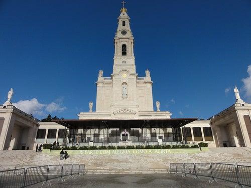 El Santuario de la Virgen de Fátima en Portugal