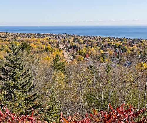 Lago Superior en América del Norte