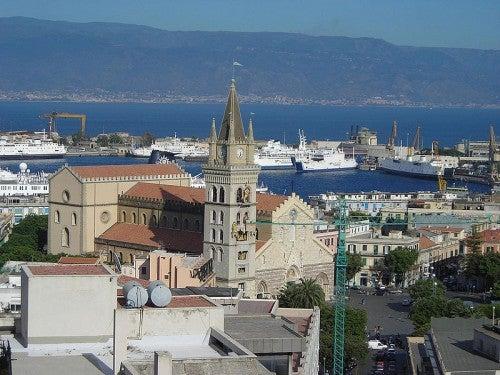 Messina: uno de los puertos más bellos de Italia