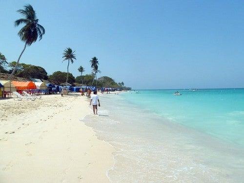 Playa Blanca: paraíso exótico cerca de Cartagena, Colombia
