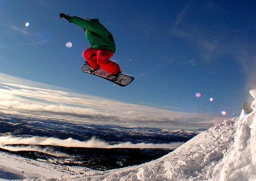 Noruega, rumbo al mejor sitio para practicar snowboarding