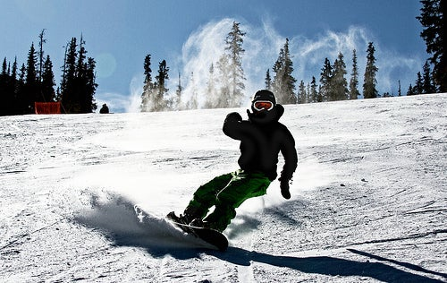 Snowboarding en Noruega