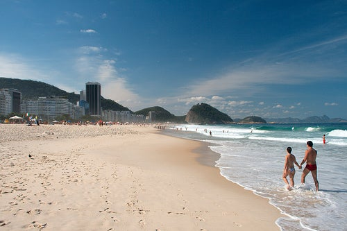 Copacabana, Río de Janeiro: emblema de Brasil