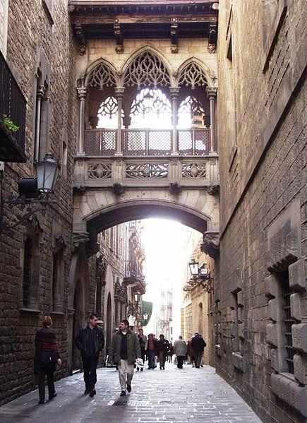 Paseo por el Barrio Gótico de Barcelona