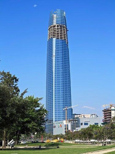 Los edificios más altos de cada país suramericano
