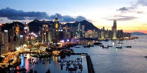 Los impresionantes rascacielos de Hong Kong