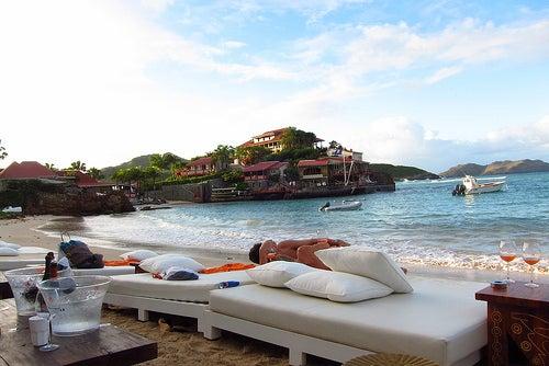 San Bartolomé, la lujosa isla caribeña