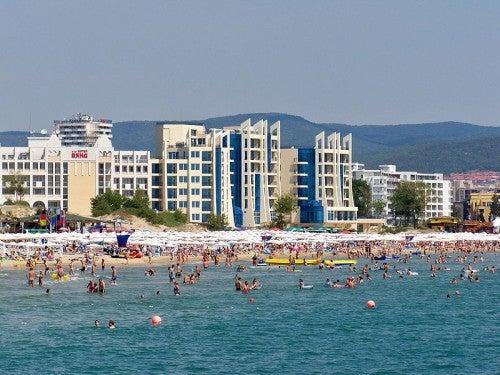 Vacaciones en playa Soleada, Bulgaria