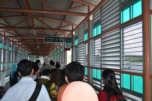 Aglomeraciones en los aeropuertos