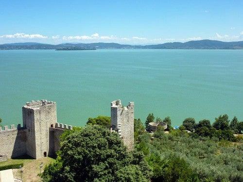 Castiglione del Lago: paseo por el centro de Italia