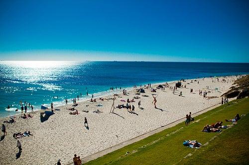 Cottesloe Beach, magnífica playa al oeste de Australia