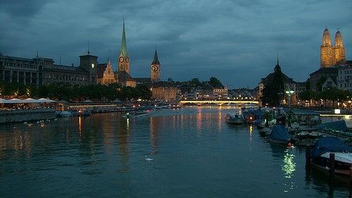 El lago de Zurich