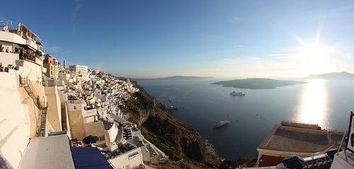 La isla de Santorini ¿Puede haber un lugar más bello?