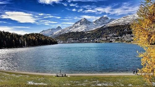 Saint Moritz, el lujoso centro de esquí de los Alpes suizos