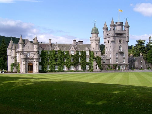 El castillo de Balmoral, distinción y belleza escénica