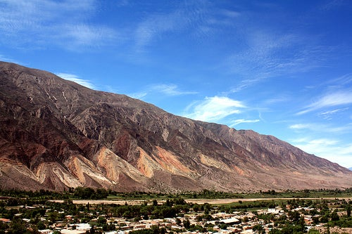 La quebrada de Humahuaca, Argentina: paisajes multicolores