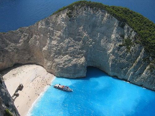 La isla de Zante, Grecia: lugar idílico por excelencia