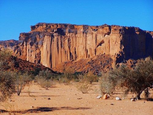 El parque nacional Talampaya, Argentina: tierra de cañón y arqueología
