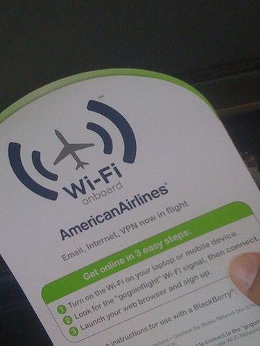 Aerolíneas norteamericanas que ya ofrecen servicio de WiFi en los aviones