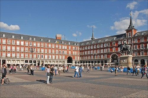 La Plaza Mayor de Madrid, un icono de la capital española