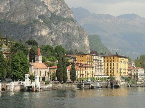 El lago de Como, Italia: elegantes villas e impresionantes montañas