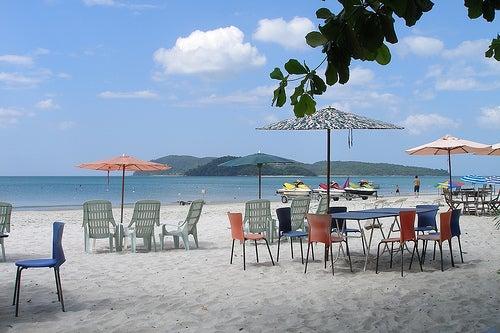 Las idílicas playas de Langkawi