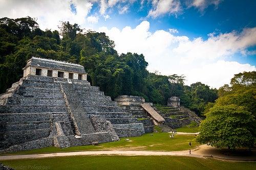 Las ruinas Mayas del Parque Nacional Palenque