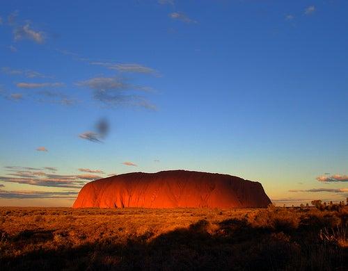 El Parque nacional Uluru-Kata Tjuta, Australia